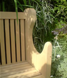 Gillian Archer Design - Winforton Bench Garden Furniture